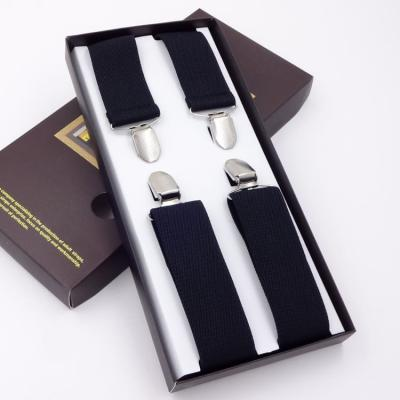 Подтяжки для брюк мужские G.Miller X-образные черные