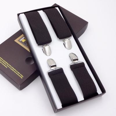 Подтяжки для брюк мужские G.Miller X-образные коричневые