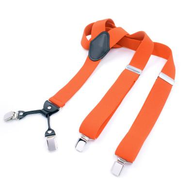 Подтяжки  оранжевые 4 клипсы MF-35