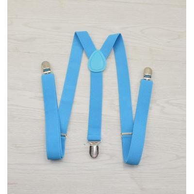 Женские подтяжки Victoria голубые