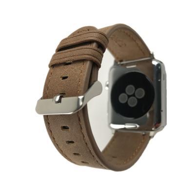 Коричневый ремешок для apple watch 38мм AW1-01
