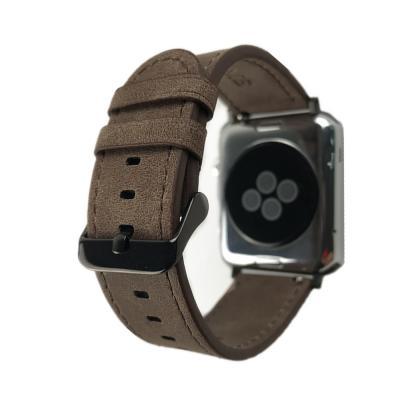 Темно-коричневый ремешок для apple watch 38мм AW1-02