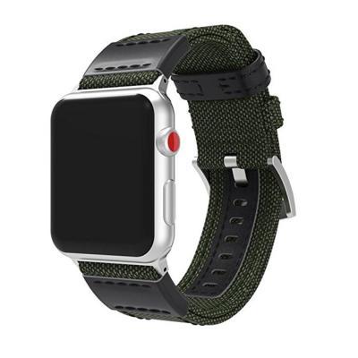 Нейлоновый зеленый ремешок для apple watch 42мм AW13-103