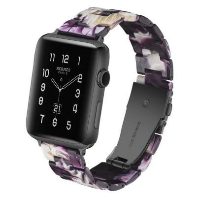 Ремешок для apple watch 42 мм полимерный фиолетовый AW15-101