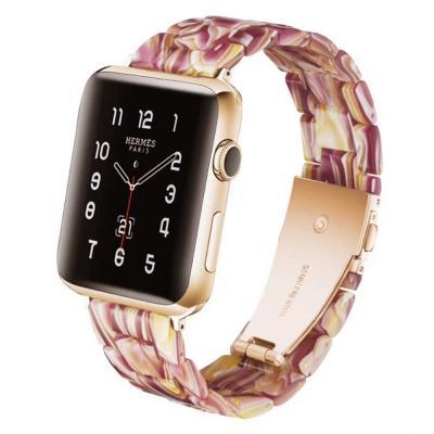 Полимерный ремешок для apple watch 42мм розовый AW15-104