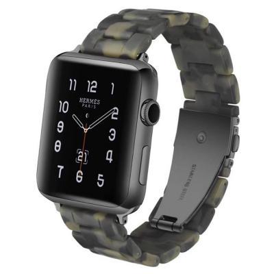 Ремешок полимерный для apple watch 38мм хаки AW15-05