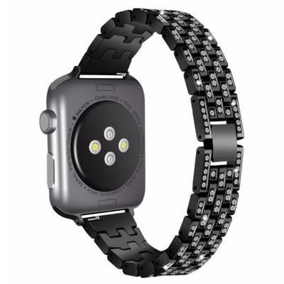 Черный металлический ремешок для apple watch 42-44мм AW17-102