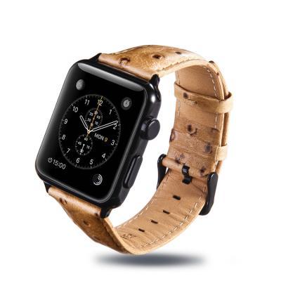 Коричневый ремешок для apple watch 38мм из кожи AW24-05