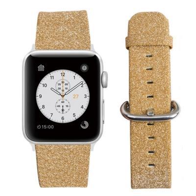 Бежевый ремешок для apple watch 42мм из кожи AW29-104