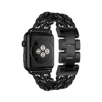 Черный металлический ремешок для apple watch 42мм AW51-102