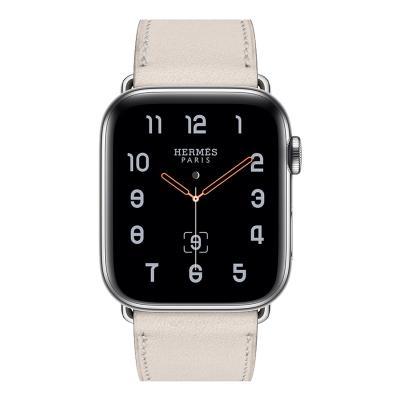 Ремешок для apple watch 38-40мм кожаный белый AW58-03