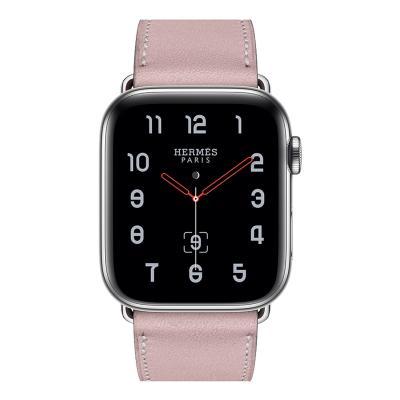 Ремешок для apple watch 38-40мм кожаный розовый AW58-05